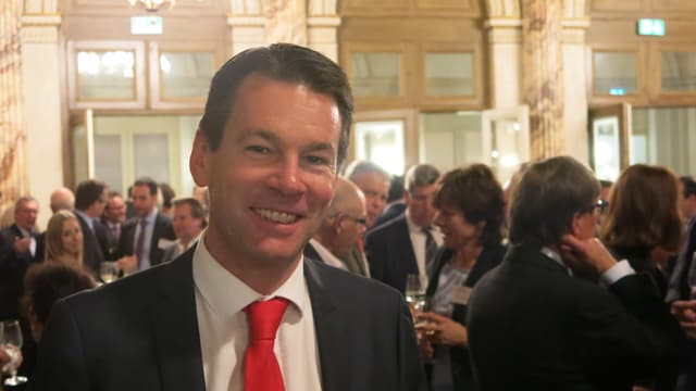 Porträt von Felix Howald, Direktor der Industrie- und Handelskammer Zentralschweiz.