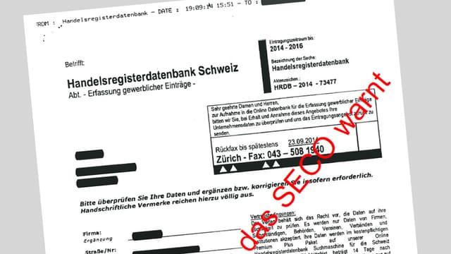 Faxformular