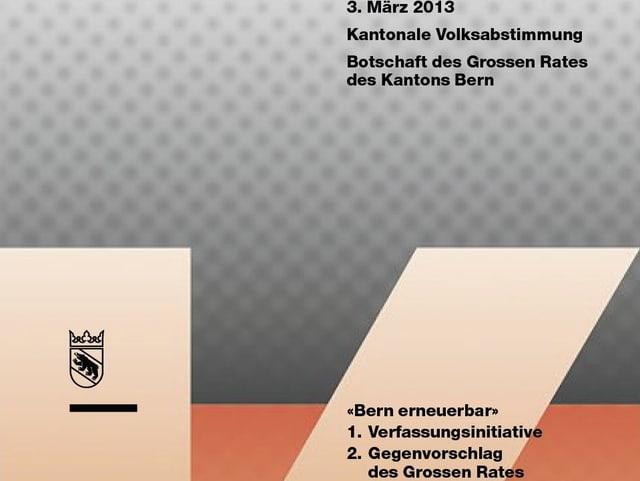 Bild der Abstimmungsbotschaft.