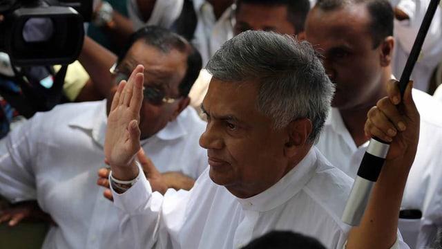 Sri Lankas Ministerpräsident Wickremesinghe