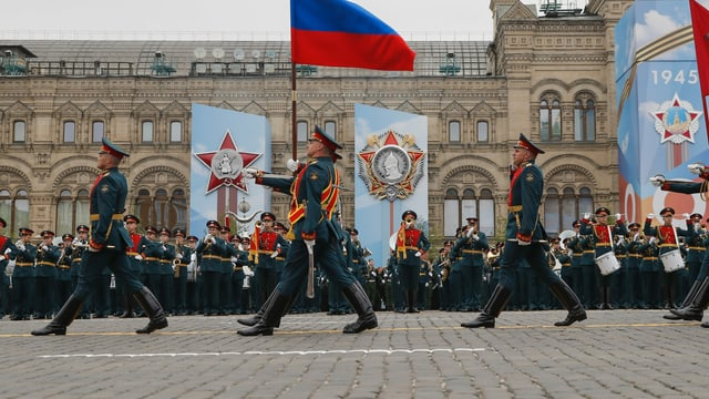 Militärparade in Moskau
