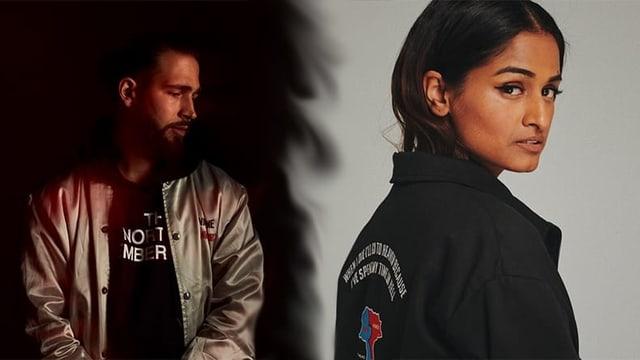 Rapper Didi und Sängerin Priya Ragu