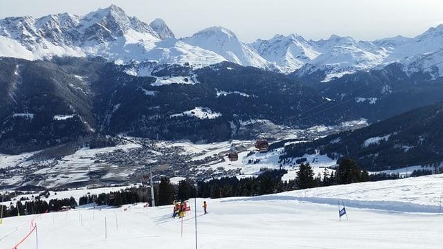 Cursas da skis FIS a Savognin