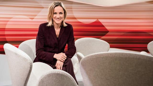 Barbara Lüthi, Moderatorin «Club»
