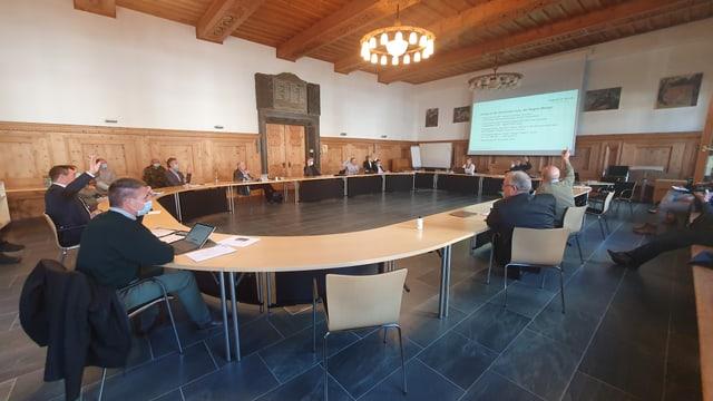 La conferenza da presidents da la Regiun Malögia