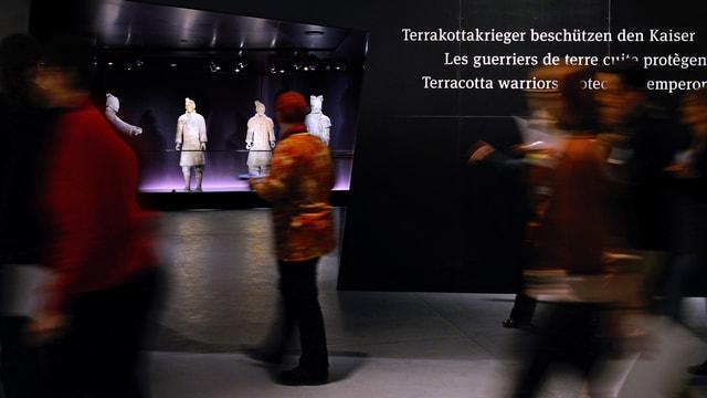 Die Terrakottakrieger lockten so viele Besucher wie noch nie ins Historische Museum Bern.