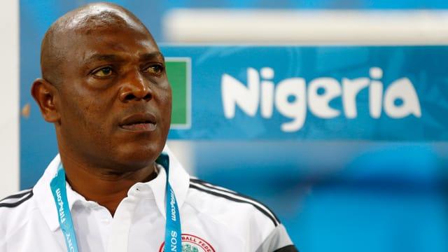 Nigerias Trainer Stephen Keshi