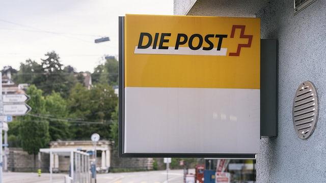 Poststellenschild
