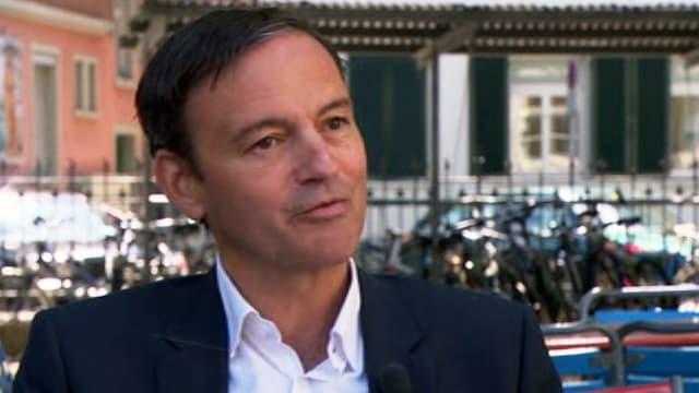 Nebs-Co-Präsident Martin Naef