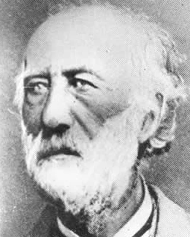 Joseph-Louis Lambot in einer Portraitaufnahme