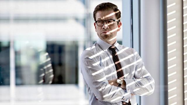 Energreen-Geschäftsführer Alexander Sødergren (Nikolaj Lie Kaas).