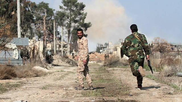 Baldige Waffenruhe in Syrien?