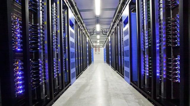 Grosse Serveranlage