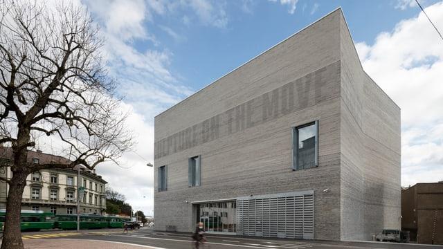 Blick auf den Neubau des Kunstmuseums Basel