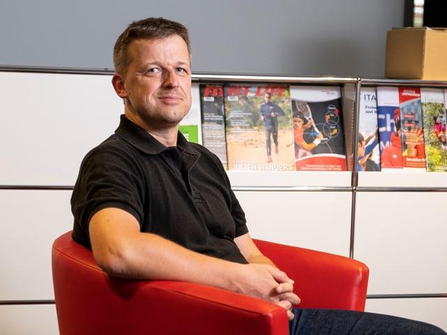Ernst König, il directur da Antidoping Svizra