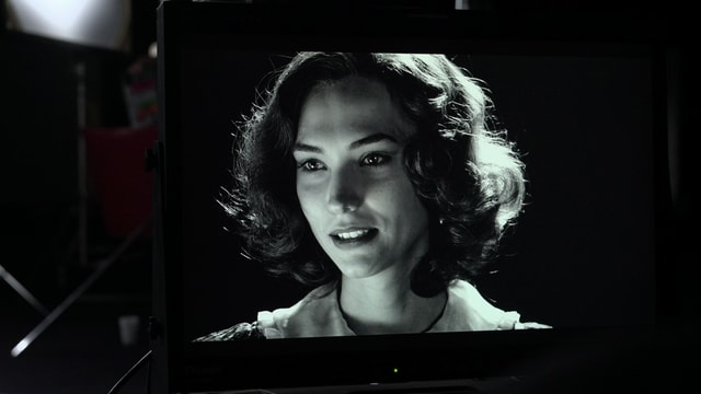 Szene aus «Cinecittà Babilonia»Marta Jaquier als Alida Valli.