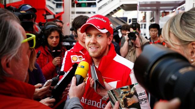 In Maranello erwartet man von Sebastian Vettel einen zeitnahen WM-Titel.
