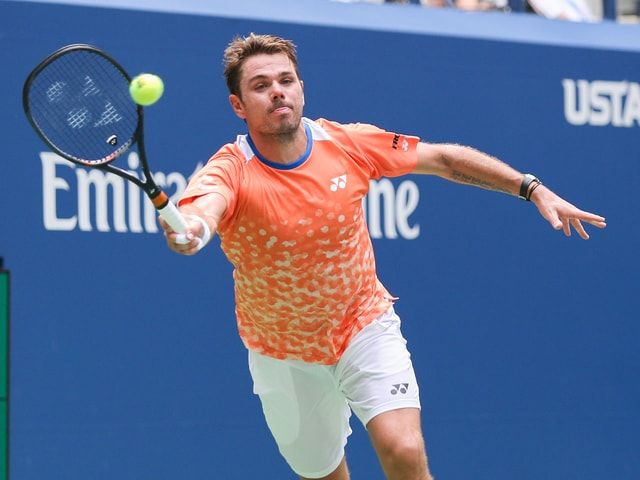 Stan Wawrinka an den US Open
