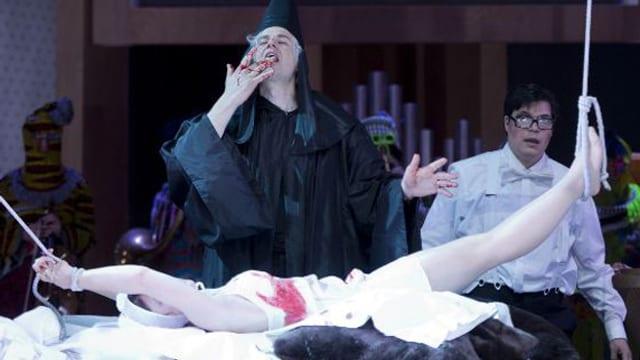 Don Giovanni im Blutrausch.