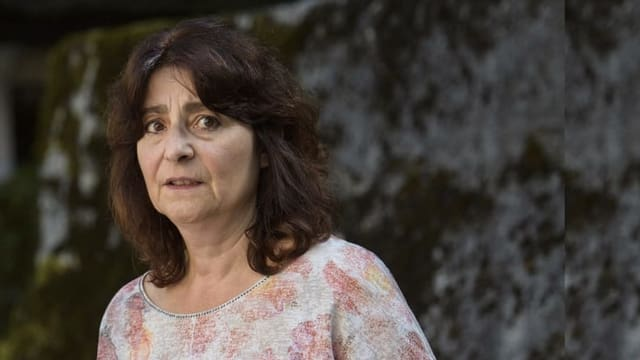 Presidenta da la vischnanca Bregaglia Anna Giacometti.