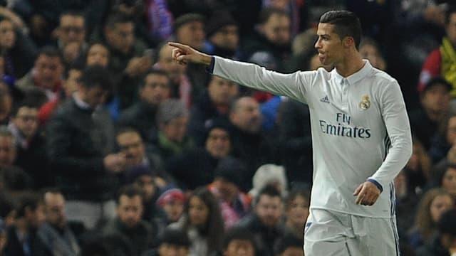 Ronaldo jubelt nach seinem ersten Treffer.