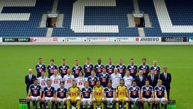 Die Mannschaft des FC Luzern.