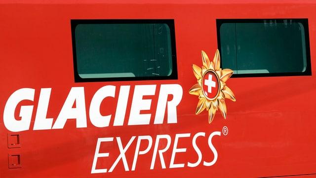 Logo dal Glacier Express.