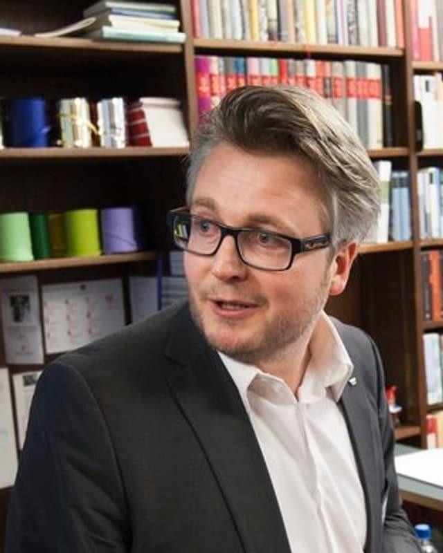 Dani Landolf, Geschäftsführer des Schweizer Buchhändler- und Verleger-Verbands.