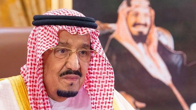 Der König von Saudi-Arabien.