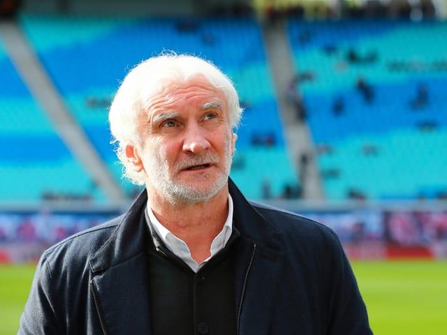 Der 90-fache deutsche Nationalspieler Rudi Völler.