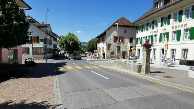 Strasse in Seengen