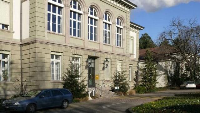 Eingang UPK Basel