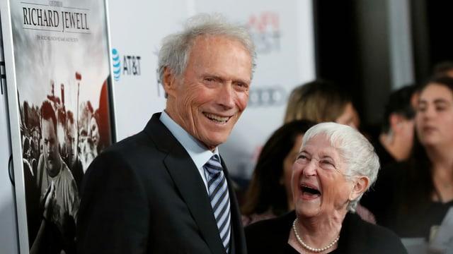 Clint Eastwood und Bobi Jewell besuchen die L.A.-Premiere von «Richard Jewell».