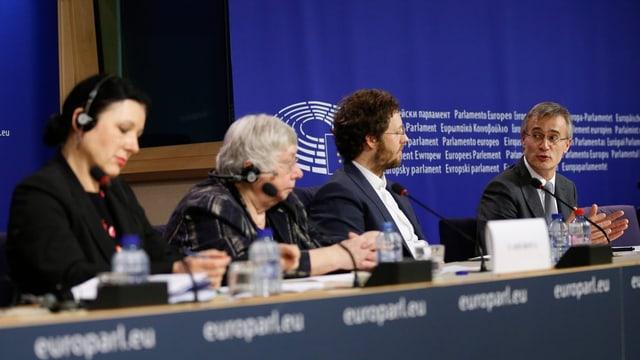 quatter ministers da la conferenza da ministers da l'UE