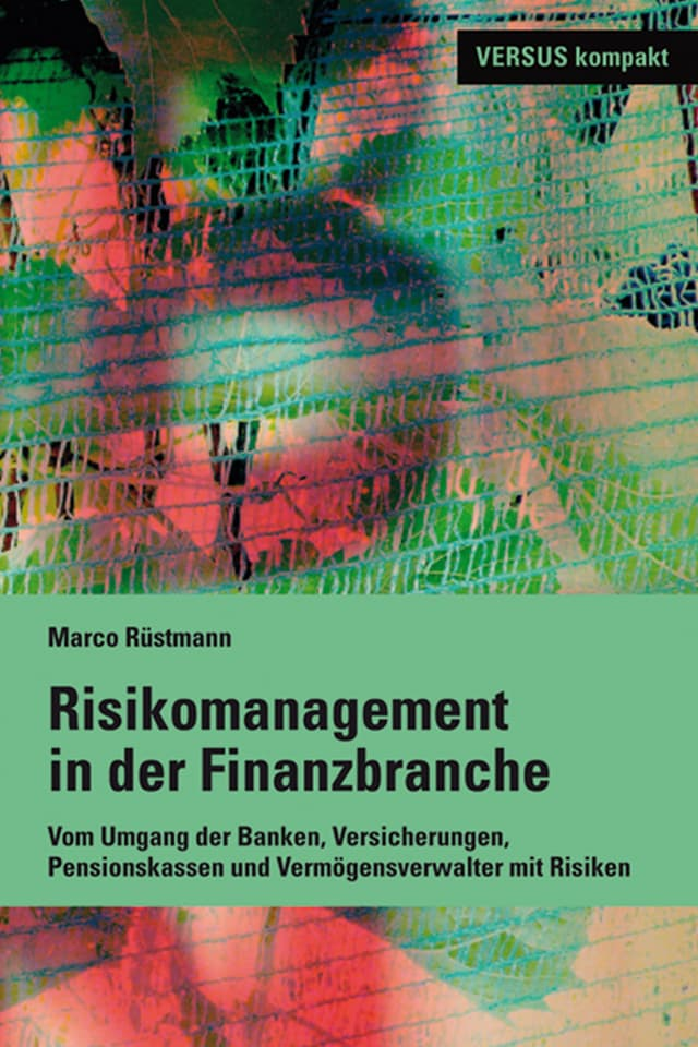 Buchtitel Risikomanagement in der Finanzbranche.