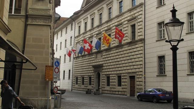 Regierungsgebäude des Kantons Luzern.