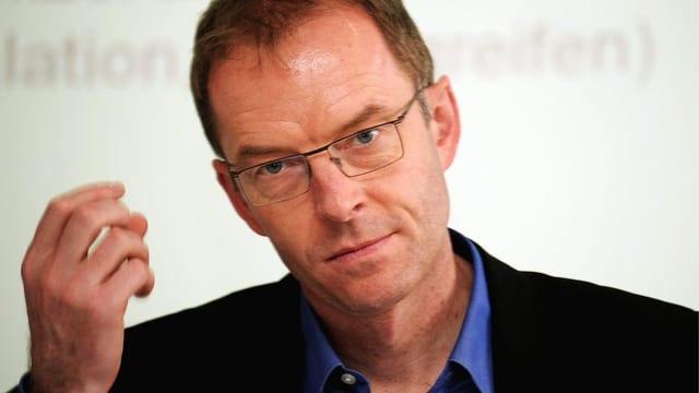 Zürcher Polizeivorsteher Daniel Leupi (GP)