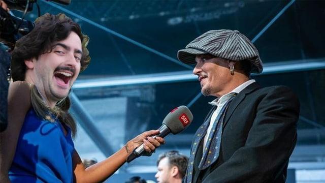 Dario interviewe Johnny Depp