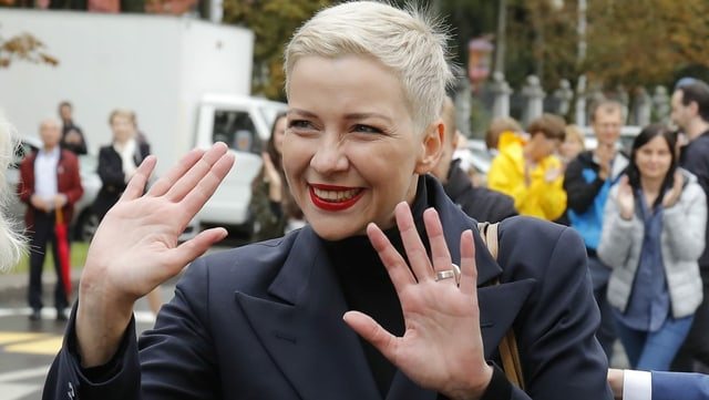 Oppositionsführerin Maria Kolesnikowa