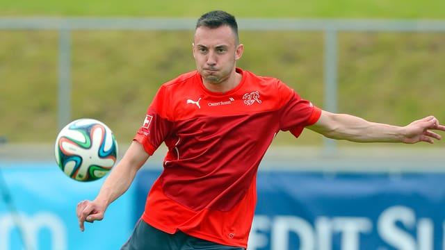 Josip Drmic im Nati-Training