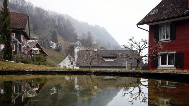 Dorfteil von Bauen im Kanton Uri
