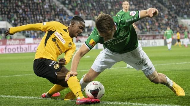 Eine Finalissima zwischen den Young Boys und dem FC St. Gallen wäre der Höhepunkt der Saison.