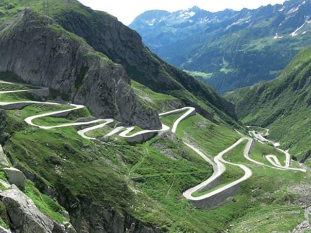 Gotthardpass.