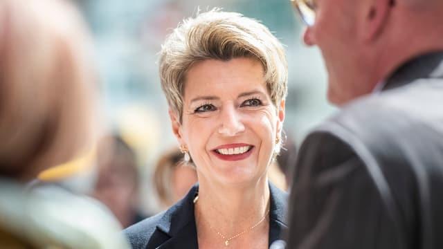 Die St. Galler Ständerätin Karin Keller-Sutter.
