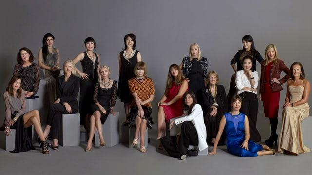 Eine Gruppe von Frauen.