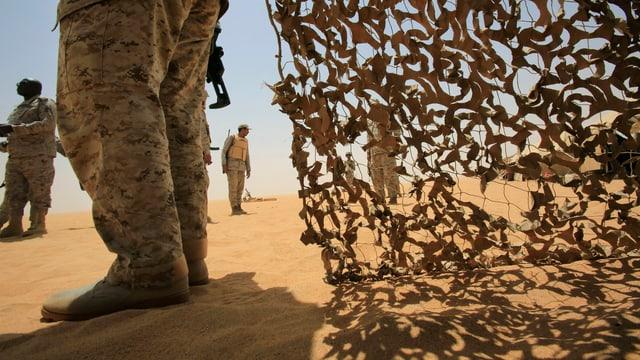 Saudische Soldaten (Symbolbild).