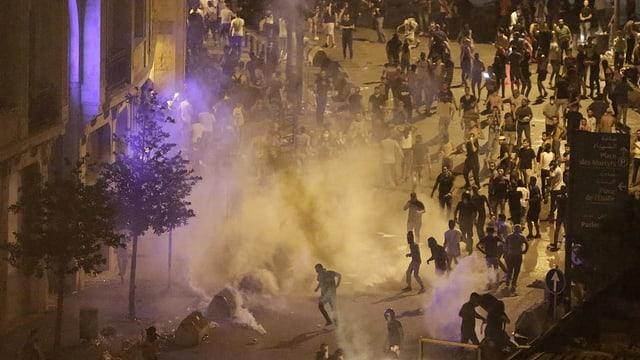 Proteste im Libanon.