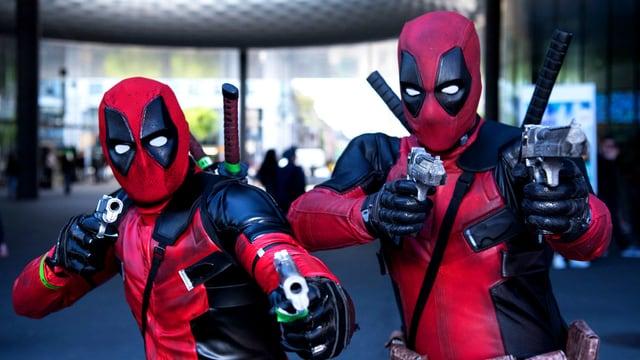 «Deadpool»: Cosplayer an der diesjährigen Fantasy Basel.