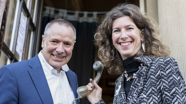 Eva Oertle und Joachim Salau