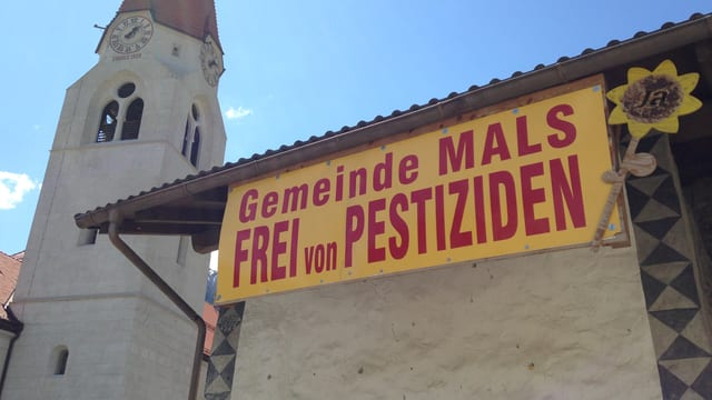 Placat: Gemeinde Mals frei von Pestiziden